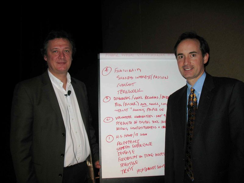 Francois Gossieaux and Ed Moran, #TOC2009