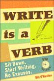 Write is a Verb by Bill O'hanlon